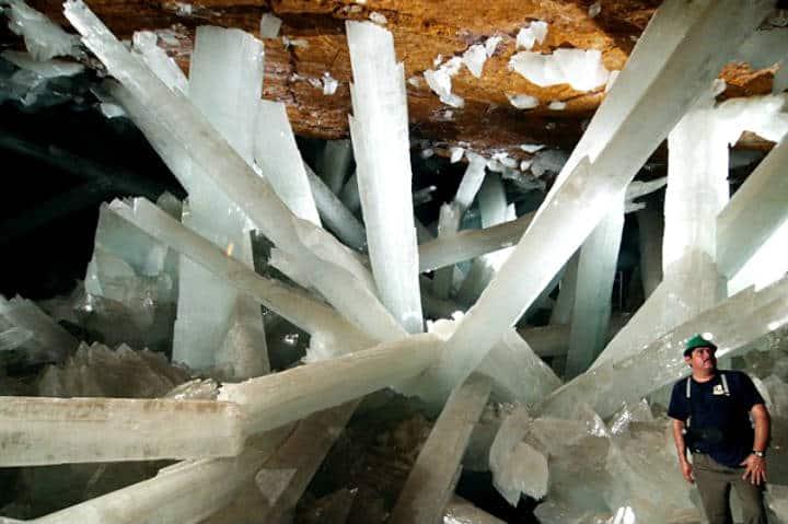 Minas de Naica. Foto Minería en Línea.