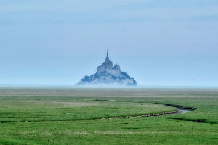 Mont Saint Michel.Normandia.Foto.Paul Henri.1