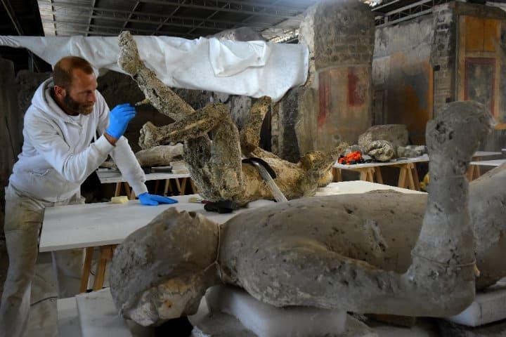 Muerte de los habitantes de Pompeya.Italia.Foto.XLSemanal.6