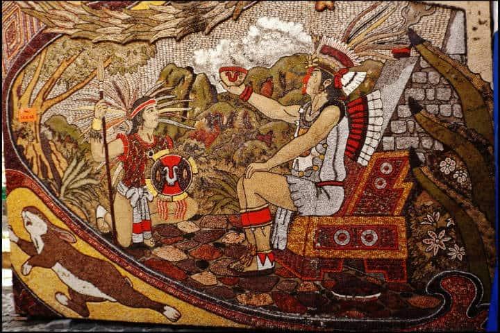 Mural de Tepoztlán. Morelos. Foto Archivo 1