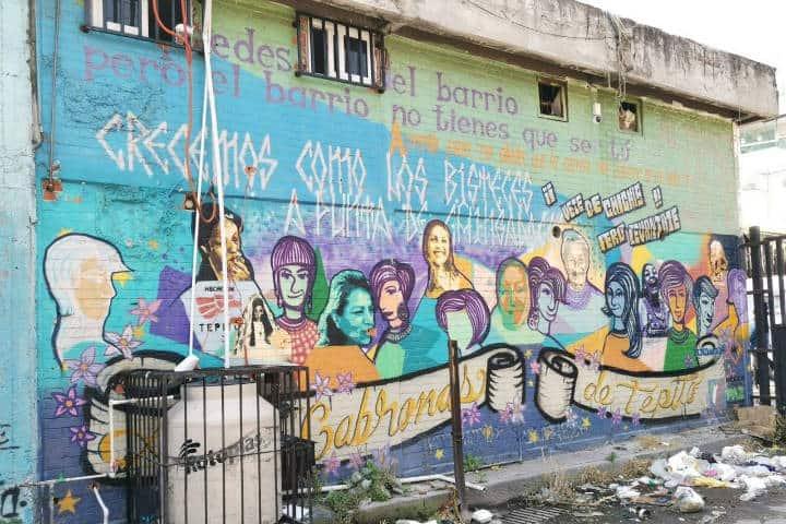 Mural en Tepito. CDMX. Foto Archivo 1