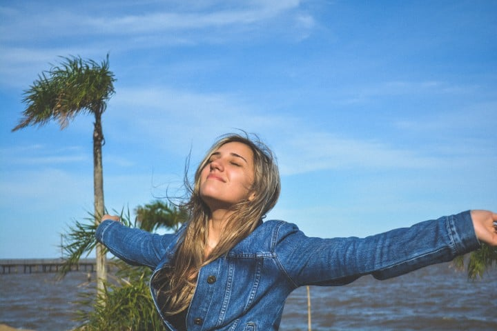 Persona feliz. Foto: Fernando Brasil