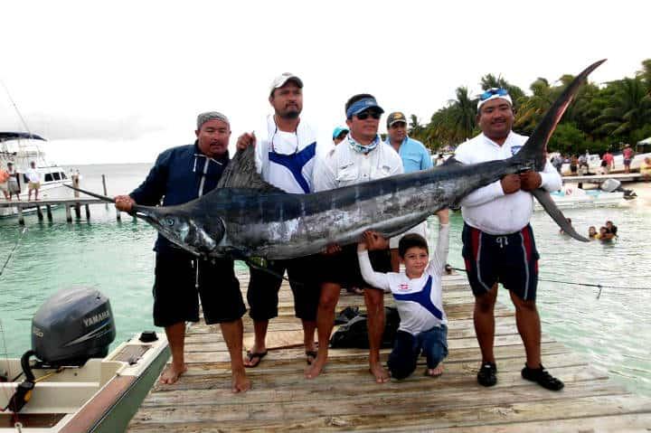 Mahahual. Foto Pescando en el Caribe.