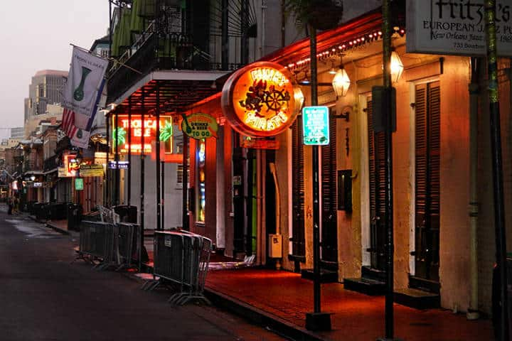 The Funky Pirate Blues Club, la música de New Orleans. Foto Photo News 247.