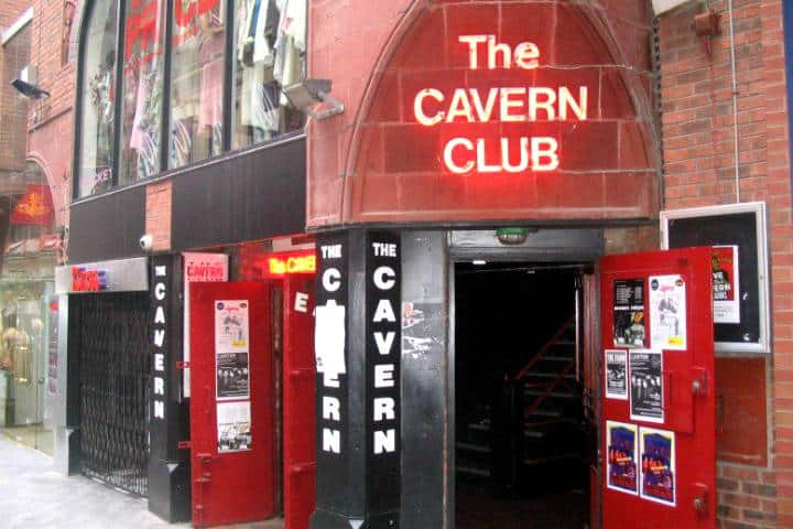 The Cavern Club. Foto Pinterest.