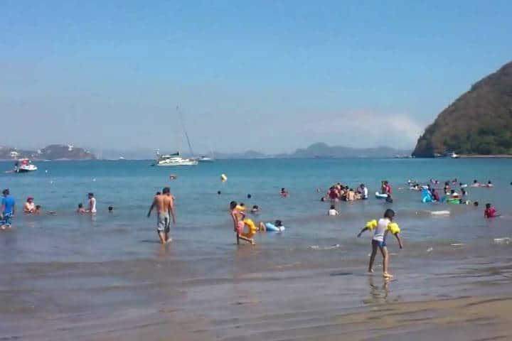 Playa la boquita. Manzanillo. Foto. Youtube 8