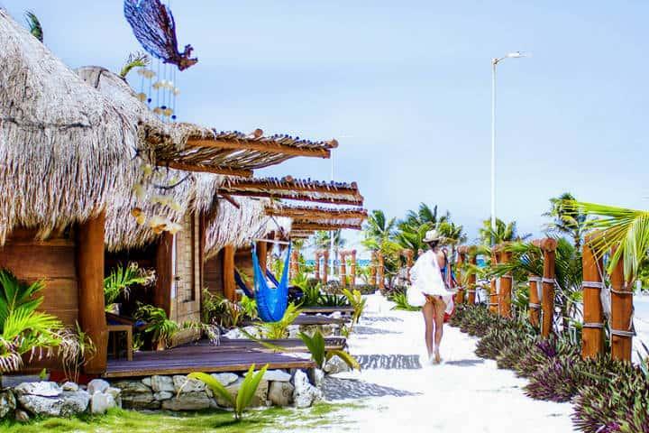 Hospedaje en Blue Bay. Foto Playas de México.