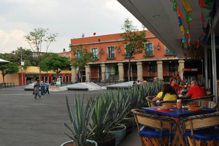 Plaza Santa Catarina. Ciudad de México. Foto Nicolás Triedo 6