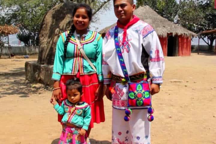 Comunidad Huichol. Foto Posta.