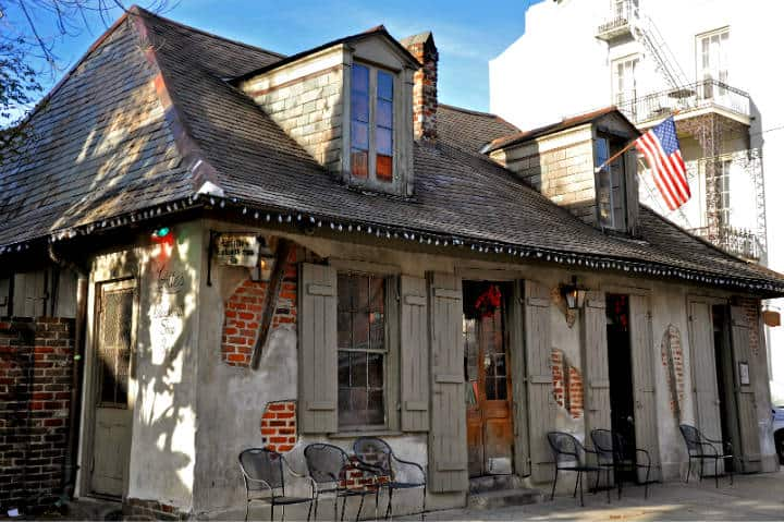 Lafitte's Blacksmith Shop Bar. Foto Preservation Resource Center of New Orleans.