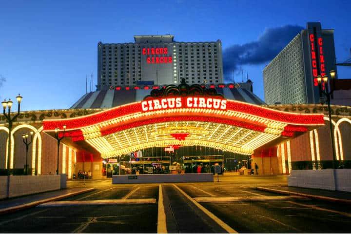 Hotel Circus Circus. Foto SBC Noticias.