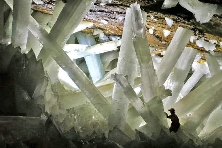 Cueva de las espadas. Foto Selecciones.