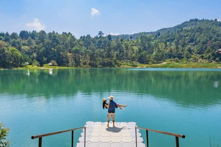 Selva Lacandona. Chiapas. Foto. Sin Postal.