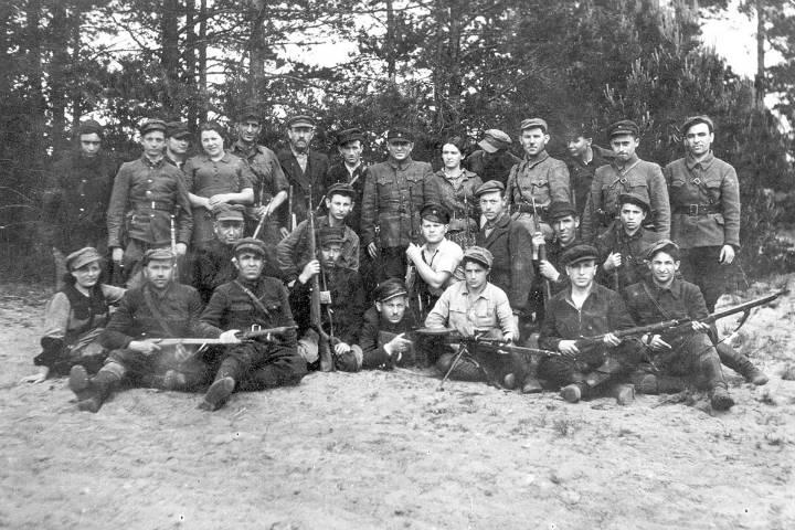 Soldados rusos. Foto Yad 4