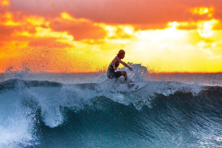 Surf en Todos los Santos Foto Kanenori