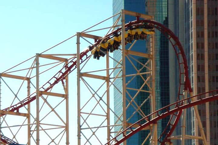 El Manhattan Express. Foto Theme Park Review.