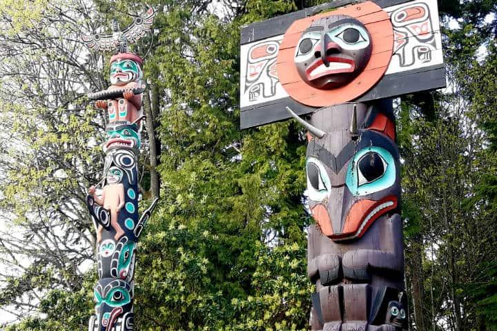 Tótems canadienses Foto Julio García Castillo El Souvenir 10