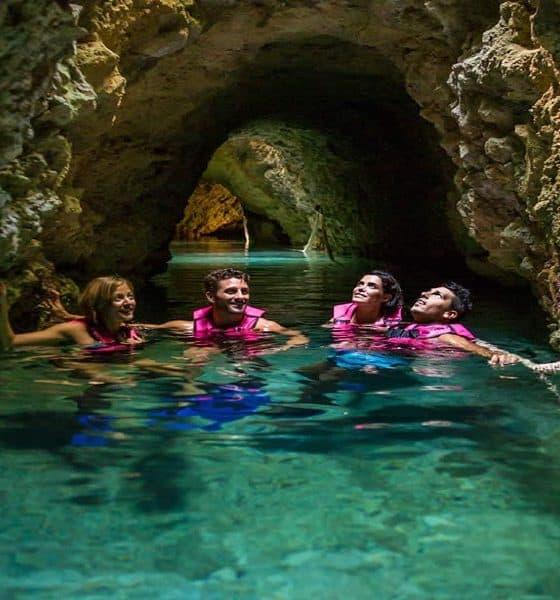 Tour por río secreto Foto ecoturismocancun com
