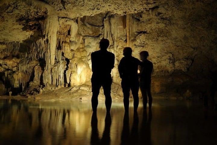 Tour por río secreto Foto elisanievas com