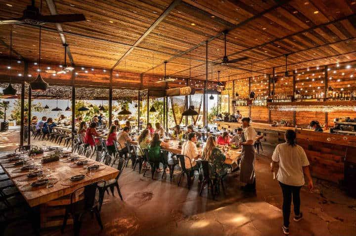 Restaurantes en Valle de Guadalupe. Foto Travel + Leisure México.