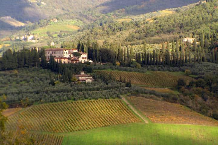 Villa Vignamaggio y Bodega de Vinos en Chianti. Foto Stefano Costantini 2