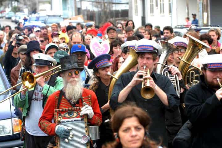 The Jazz Funeral. Foto Visit New Orleans.