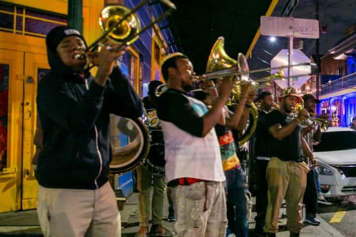 La música de Nueva Orleans. Foto Visit New Orleans.