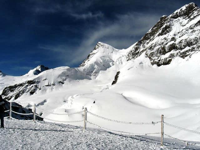 Jungfrau Suiza turismo. Foto Archivo.