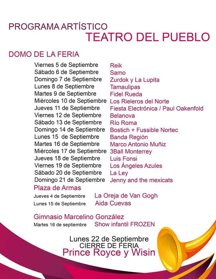 Artistas Teatro del pueblo Fenaza