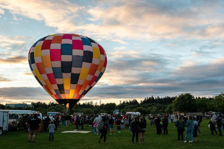 ballons teotihuacan
