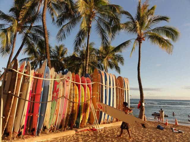 Tablas de surf. Foto Archivo.