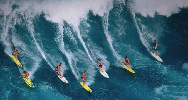 Qué es el Surf. Foto Archivo.