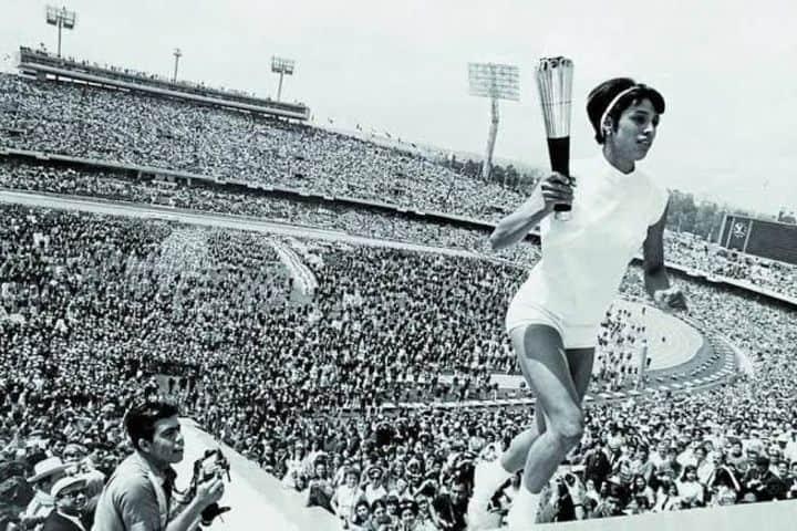 juegos olímpicos de 1968. Foto: Dario Denver