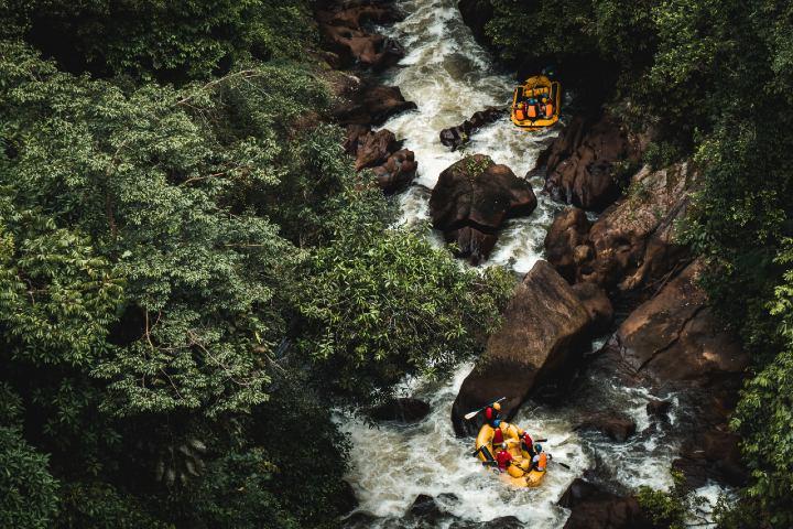 Rafting. Foto: Firdouss Ross