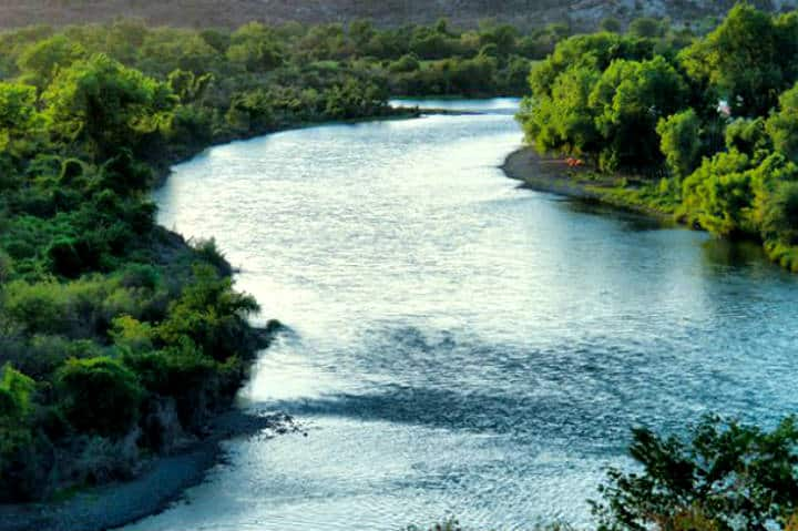 Río Fuerte. Foto ADN Informativo MX.