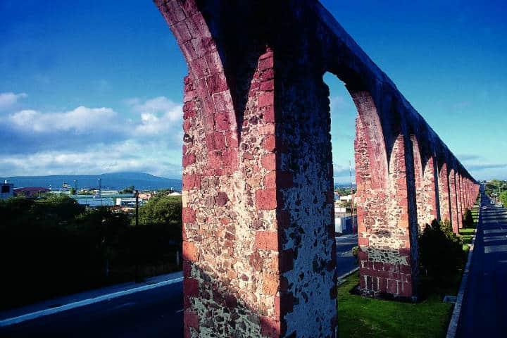 Acueductos de Querétaro. Foto Comisión Mexicana de Filmaciones 4