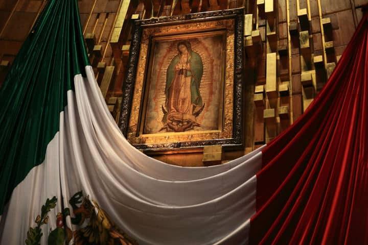 Aquí observaremos las curiosidades del cuadro de la Virgen María en la Basílica de Guadalupe Foto Esparta Palma