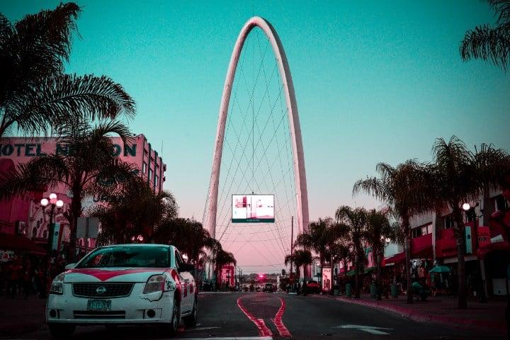 Arco Tijuana. Foto: Barbara Zandoval