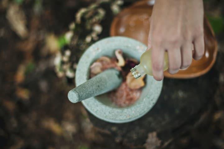 Aromaterapia. Foto: Katherine Hanlon