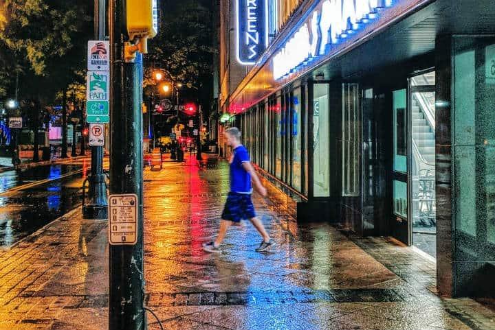 Atlanta de noche. Foto Atlanta the City.