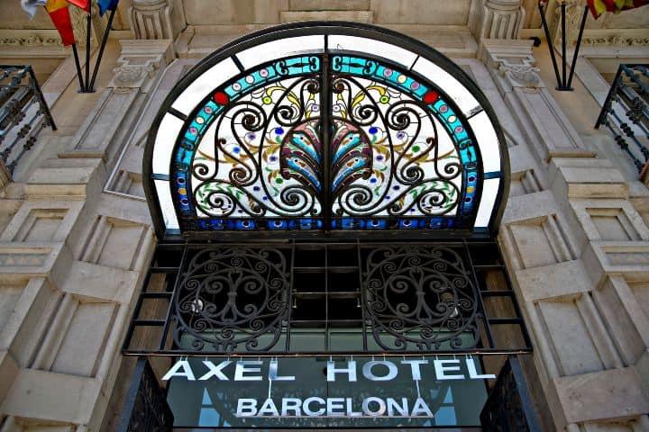 Axel hotel Barcelona. Foto: Axel Hotels Axel Hotel en Buenos Aires