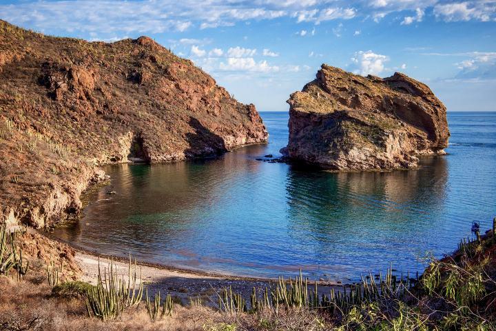 Bahía de San Carlos Sonora. Foto: Rada SC Tour por Bahía de San Carlos