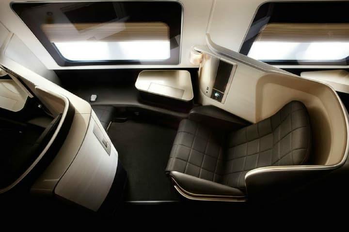 Cabina de primera clase British Airways Foto Stylowe Podróże