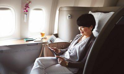 Cabinas de aerolíneas de primera clase Foto Cathay Pacific Airways