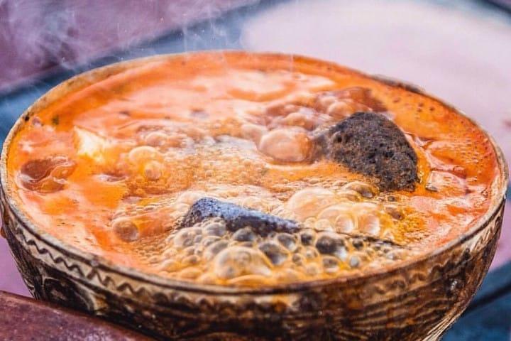 Caldo de piedra. Foto: Victorfotomx Comida típica de Oaxaca