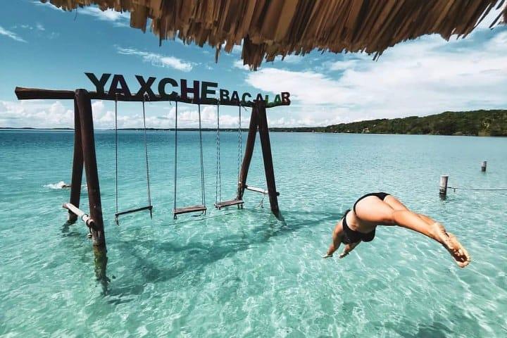 """Campamento Ecoturístico Yaxche. Foto: Ecocamping """"Yaxche"""" Acampar en Bacalar"""