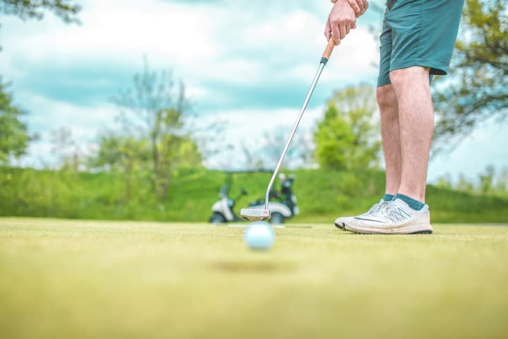 Campo de golf. Foto: Courtney Cook