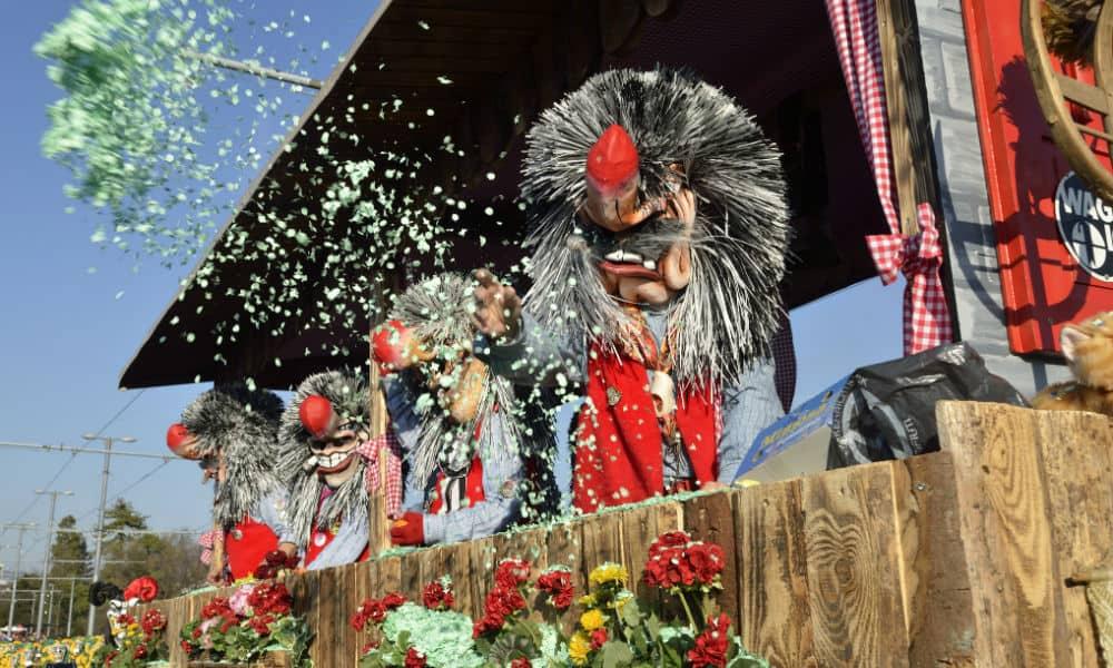 Carnaval Fasnacht en Basilea Foto Noel Reynolds