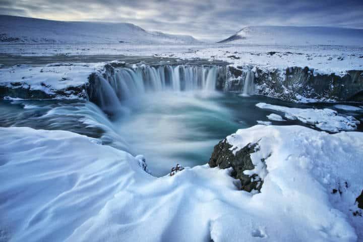 Cascadas famosas Godafoss. Islandia. Foto. Trevor Cole 8