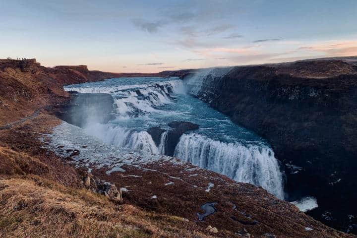 Cascadas famosas Gullfoss. Islandia. Foto. Joey Clover 4